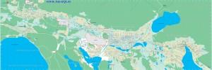 Карта Миасса
